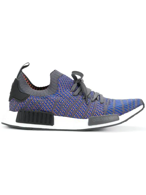 new style c64fd 6c38a Men's Nmd Runner R1 Stlt Primeknit Casual Shoes, Blue