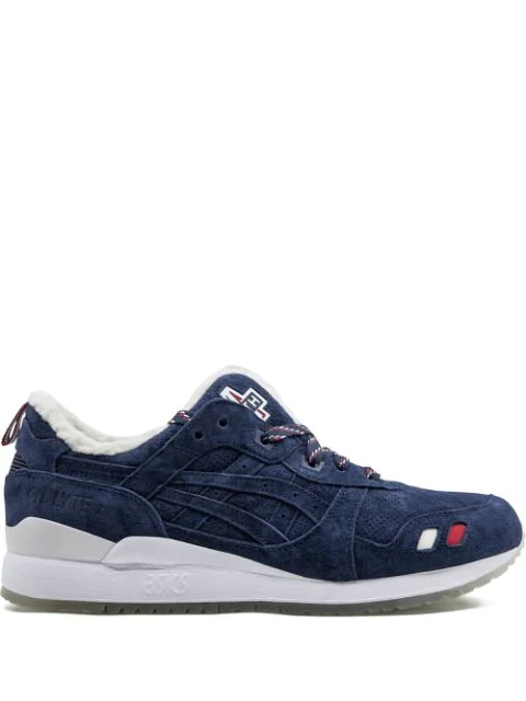 new product 25bfe 5ecbb Asics Gel-Lyte Iii Kith X Moncler Sneakers - Blau in Blue