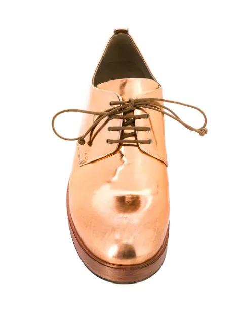 Shoes Metallic Gold Marsèll Derby 2DIW9eEHY