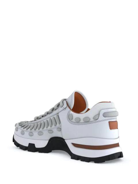70ae3703 Ermenegildo Zegna Xxx My Claudio Sneakers - White