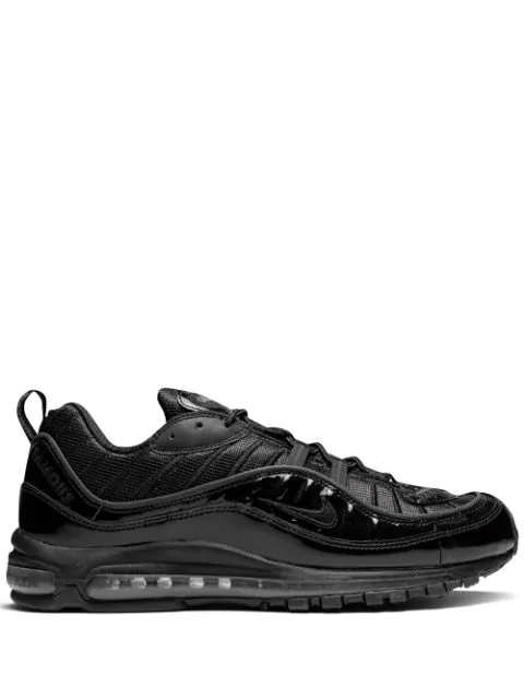 another chance d14d2 8c196 Air Max 98/Supreme Sneakers in Black