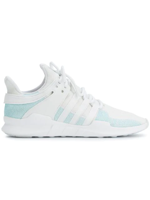 best sneakers 77fca 69da4 Adidas White Eqt Support Adv Parley Sneakers