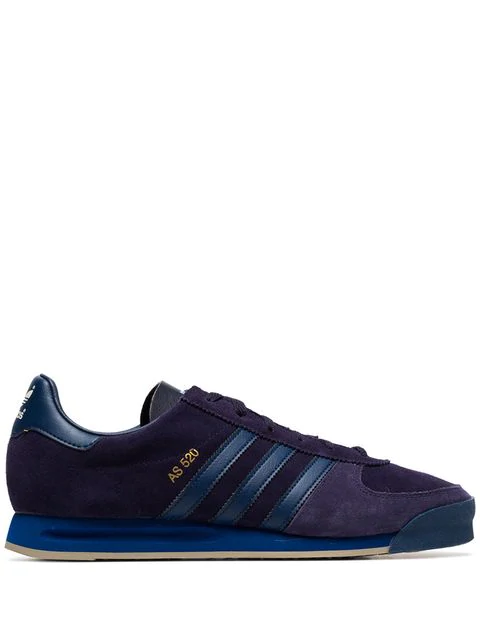 Adidas Navy Blue X Spezial As 520 Suede Low Top Sneakers