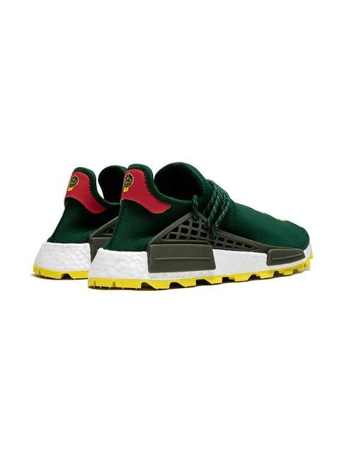 superior quality 78e22 c90b0 Nmd Hu Pharrell Nerd Green Yellow in Green/Yellow/White