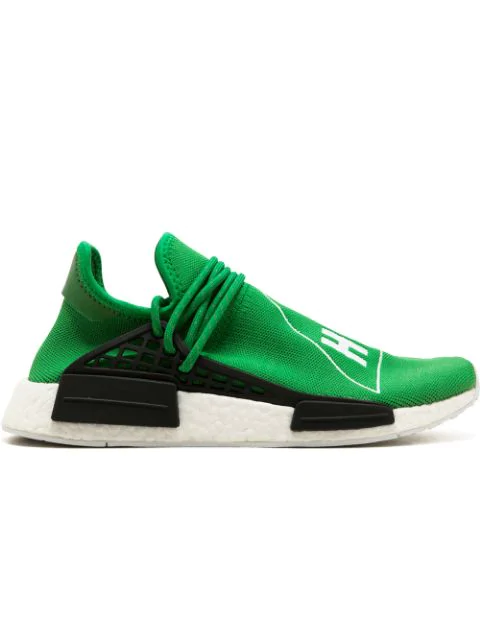 purchase cheap 2c915 82362 Adidas X Pharrell Williams Human Race Nmd Sneakers in Green/Cwhite