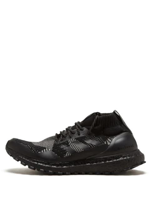 wholesale dealer e299b 0cee4 Adidas Kith X Nonnative X Ultraboost Mid Sneakers - Black
