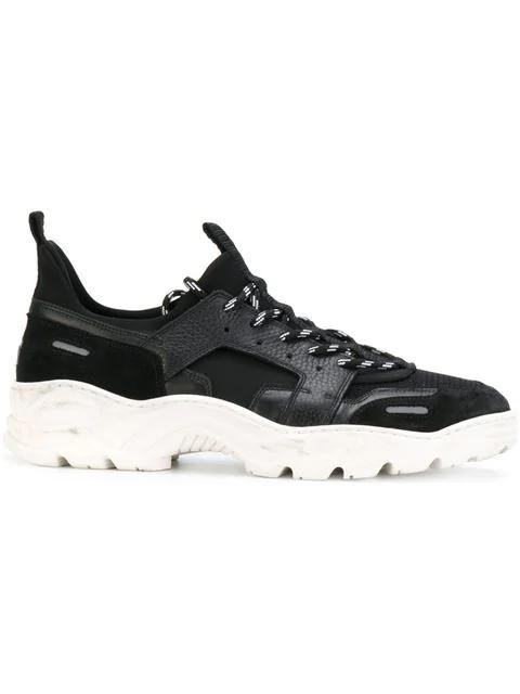 And Sneakers Black In NeopreneSuedeLeather Mesh Running Ig6yY7mfvb