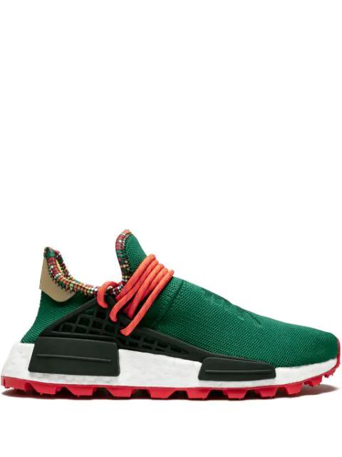 Adidas Pw Solar Hu Nmd X Pharrell Williams Sneakers in Green