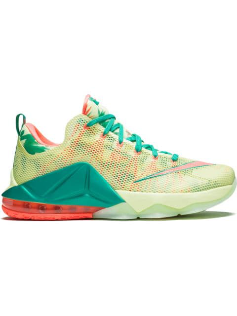 size 40 ab28f 43400 Lebron 12 Low Prm Sneakers in Blue