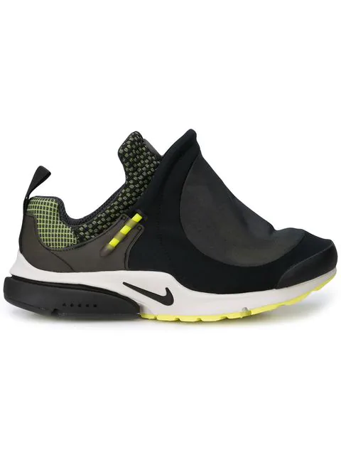 grossiste e9162 f0ee3 Comme Des Garçons Homme Plus Black, White And Yellow X Nike Presto Tent  Sneakers
