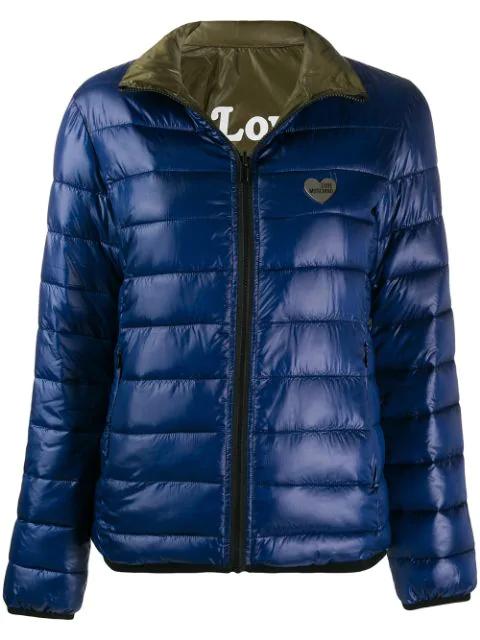 Turnschuhe tolle Auswahl weltweit bekannt Jacke Mit Logo in Blue