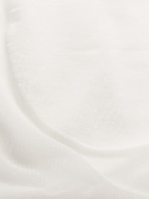 COURRÈGES COURRÈGES WIDE SLEEVE TOP - WHITE