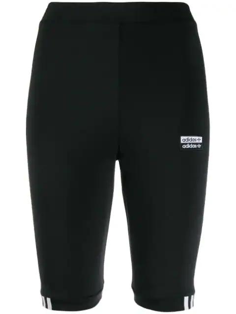 aafa3136 Adidas Logo Print Cycling Shorts - Black