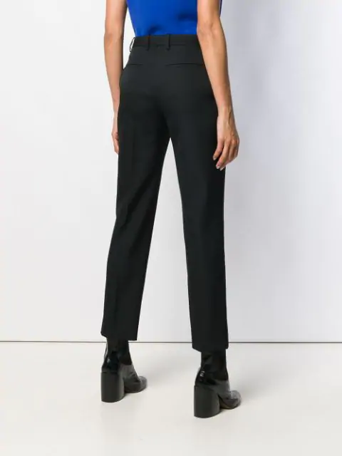 GIVENCHY SATIN PANELLED TUXEDO TROUSERS