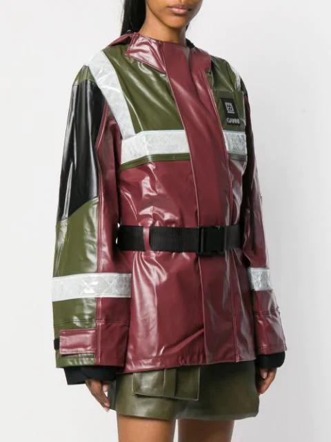 336f605fe X 66°North Askja Hooded Technical Jacket in Claret
