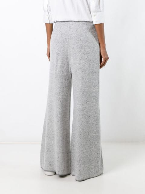 STELLA MCCARTNEY WIDE LEG FLARED TROUSERS