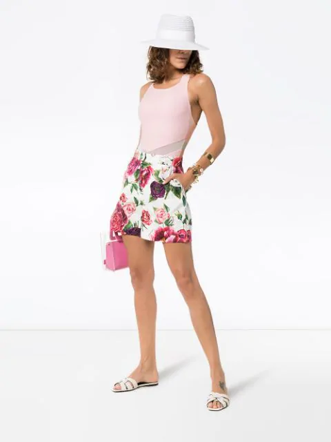 Ambra Maddalena 'Jenny Bond' Badeanzug - Rosa In Pink