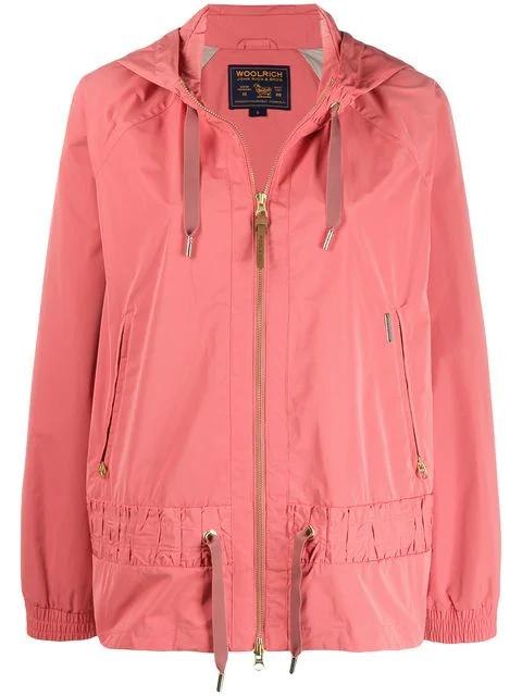 hot sale online 11f66 90979 Woolrich Regenjacke Mit Kapuze - Rosa in Pink