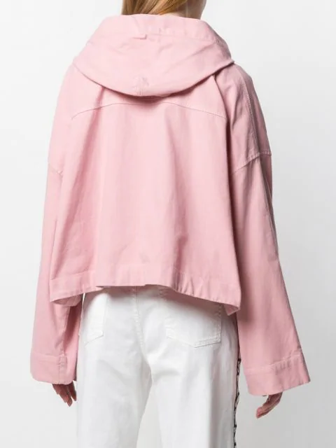 N°21 CROPPED HOODED JACKET