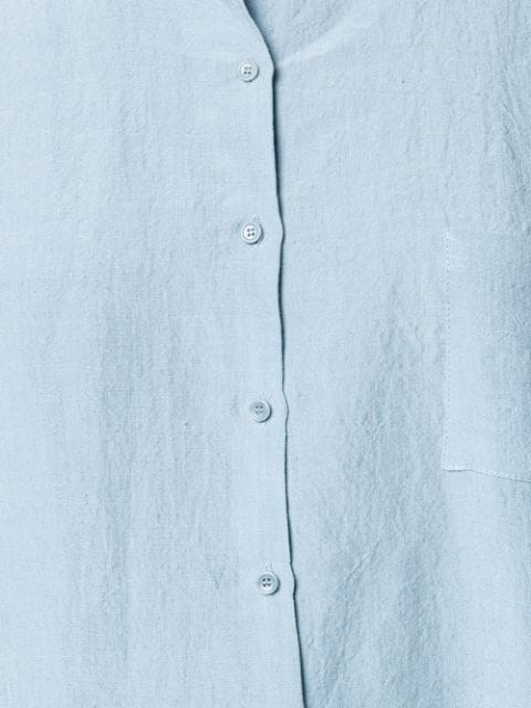 Apuntob Hemdkleid Mit Lockerem Schnitt - Blau In Blue