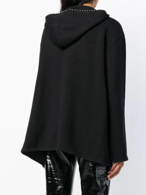 SAINT LAURENT EMBELLISHED CARDI COAT