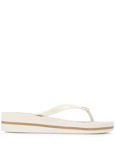 Michael Kors Collection 'bedford' Flip flops Weiß In White
