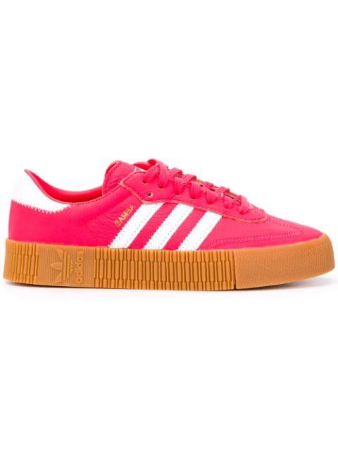 adidas originals rosa streifen