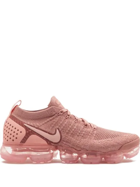 W Air Vapormax Flyknit 2 Sneakers in Pink