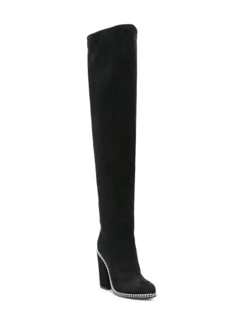 BALMAIN KNEE-HIGH BOOTS