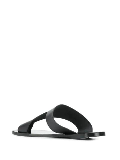 Atp Atelier Cutout Sandals - Black