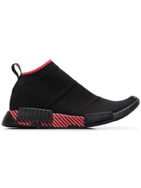 Adidas Black Nmd Racer Sneakers