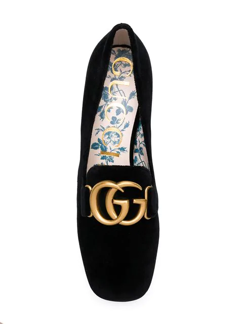 GUCCI DOUBLE GG PUMPS