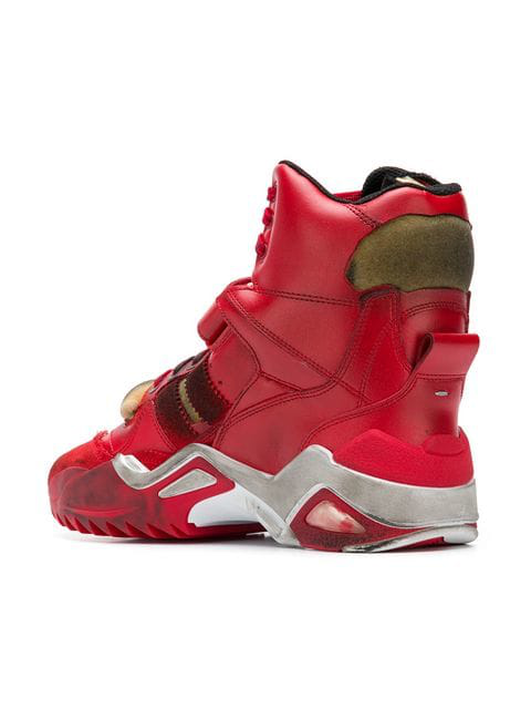 Retro Red Fit H6908 Sneakers High In Top XNnPO0wZk8