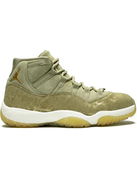 363af635153 Jordan 'Air Jordan 11 Retro' Sneakers - Grün in Green