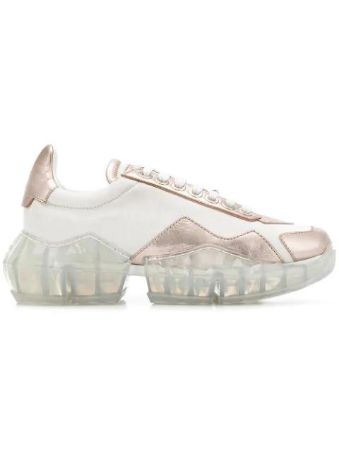 jimmy choo ballet flats, Jimmy Choo Portman Sneaker aus