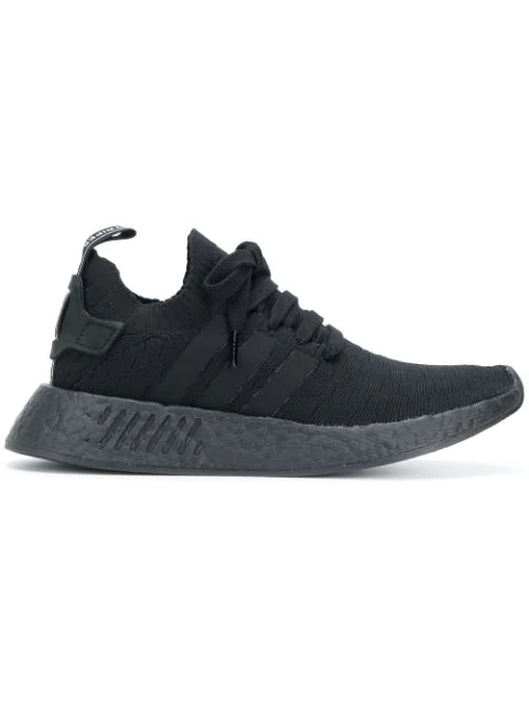 newest 8bd79 3a490 Adidas Adidas Originals Nmd_R2 Primeknit Sneakers - Black