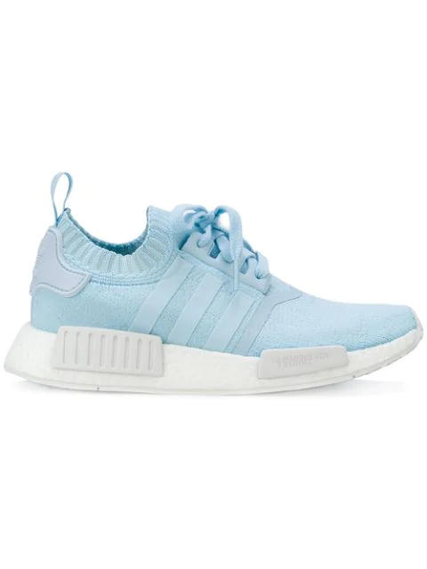 pretty nice cb4e5 929ae Adidas Women's Nmd R1 Primeknit Casual Sneakers From Finish Line in Blue