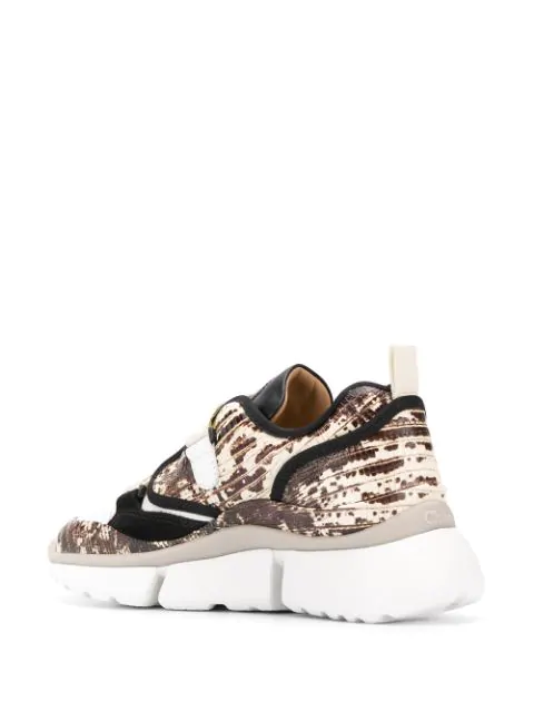 CHLOÉ SONNIE RAISED SOLE TRAINERS