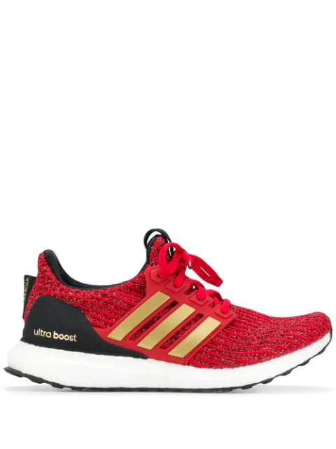 online store 5bcc5 de055 X Game Of Thrones Ultra Boost 4.0 Lannister Sneakers in Red