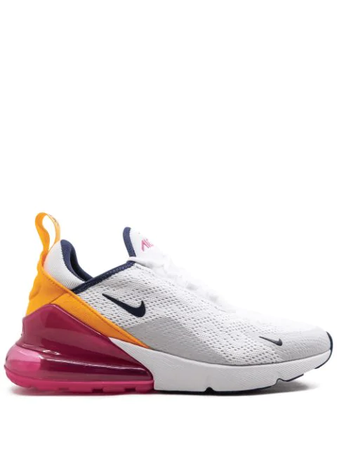 Air Max 270 Laser Fuchsia (W) in White