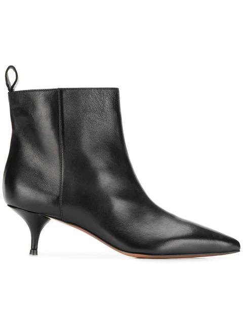 online store c3a0a a128e L'Autre Chose Stiefeletten Mit Kitten-Heel-Absatz - Schwarz in Black