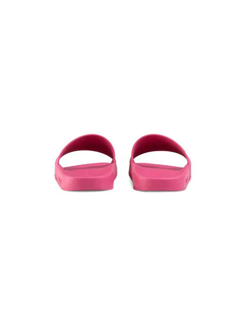 Gucci Women's 525140Jcz005516 Fuchsia Rubber Sandals In Pink
