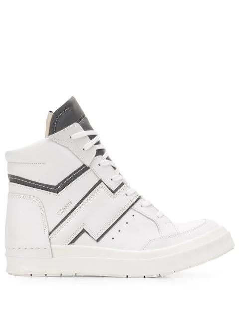 Cinzia White Skin Araia Top High Sneakers b7Yfg6yv