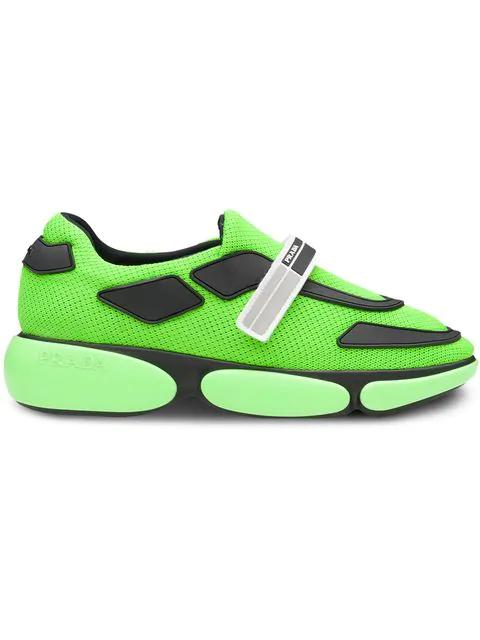 40 Green Leather Cloudburst Neon Trainers YeIWE29DHb