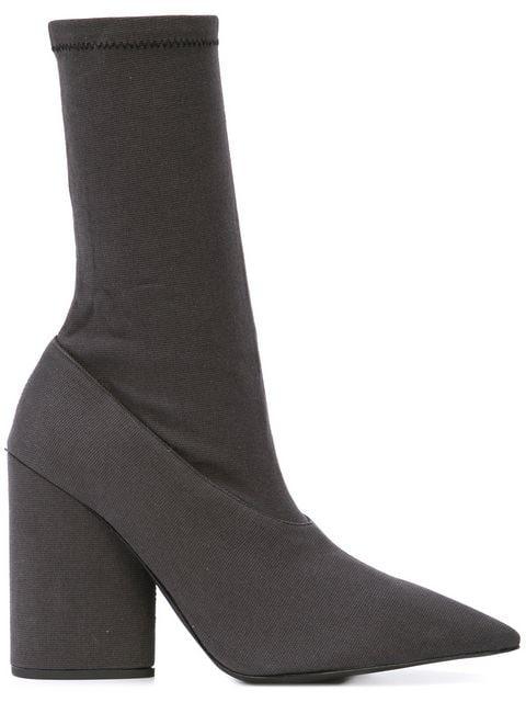 uk availability 58d4b a5fe7 Yeezy Season 7 Sock Boots in Black