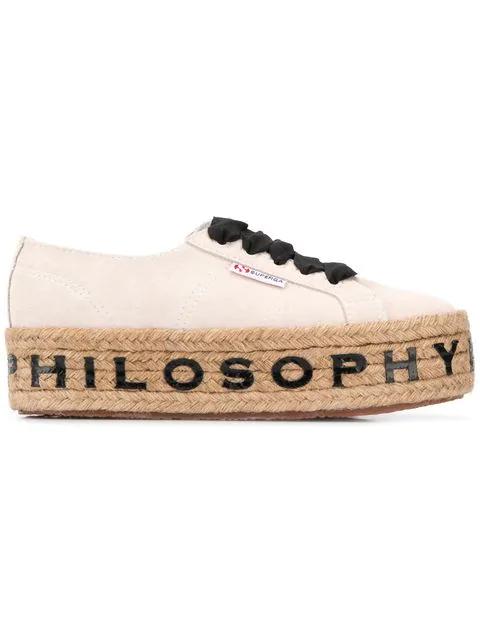 scarpe di separazione 0d5d7 e8a7c Philosophy Di Lorenzo Serafini Superga X Philosophy Di Lorenzo 'Serafini'  Sneakers - Weiß in White