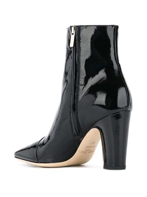 e2fb93564cf Mirren 100 Leather Ankle Boots in Black