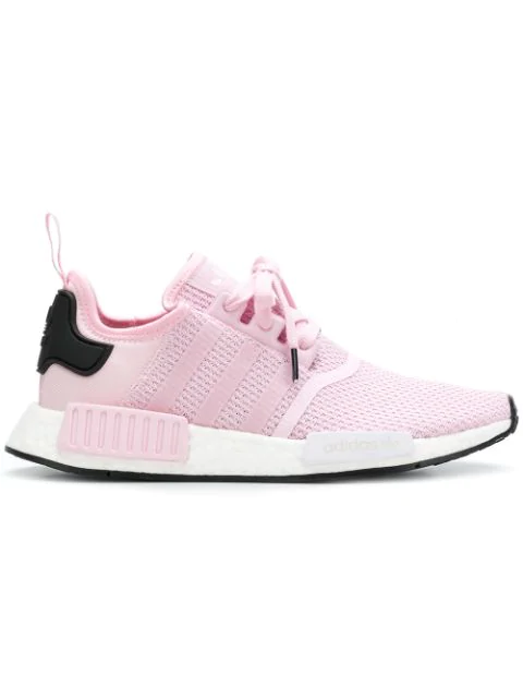 new style f3c93 7d37e Adidas Originals Nmd_R1 W Sneakers in Pink