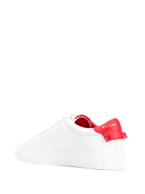 Givenchy Urban Street Sneakers In Smooth Leather In White