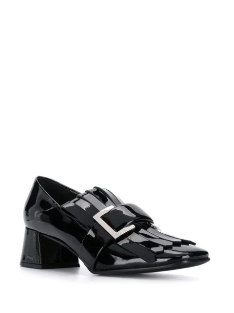 SERGIO ROSSI PRINCE FRINGED PUMPS